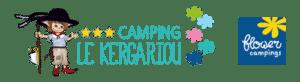 logo flower camping le Kergariou