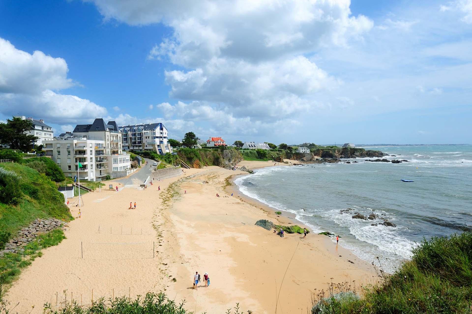 plage des grands sables le pouldu
